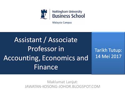 Jawatan Kosong Di Nottingham University Business School Malaysia - NUBS Malaysia