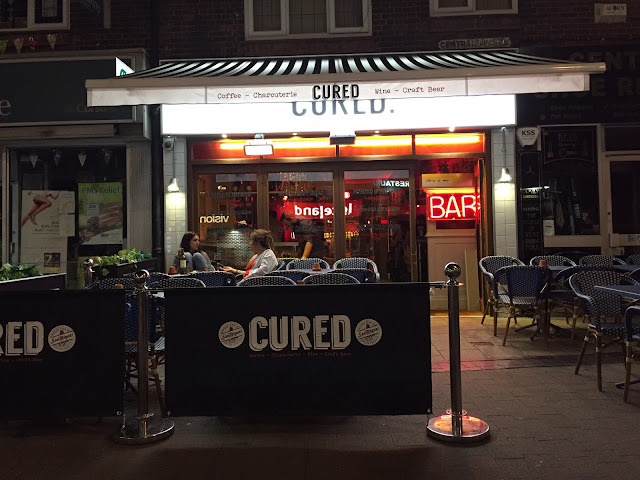 Cured restaurant and bar in West Bridgford