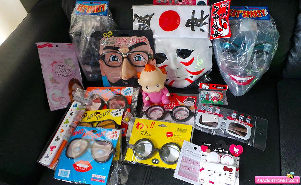 funny eyeglasses and masks