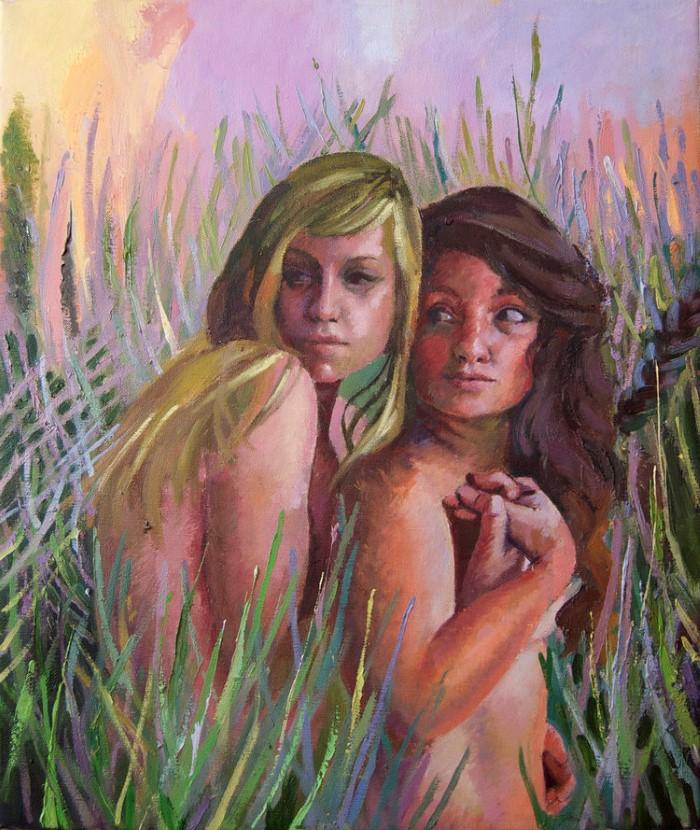 Американский художник. Alli Wolf
