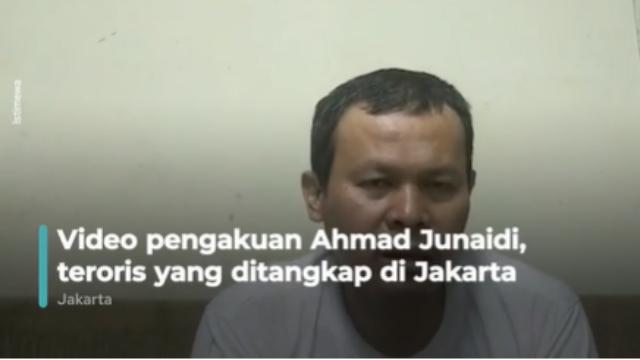 Pengakuan Terduga Teroris di Jakarta: Ingin Ledakkan Industri China, Lempar Bom ke Tokoh China