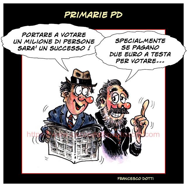 Primarie due euro per votare