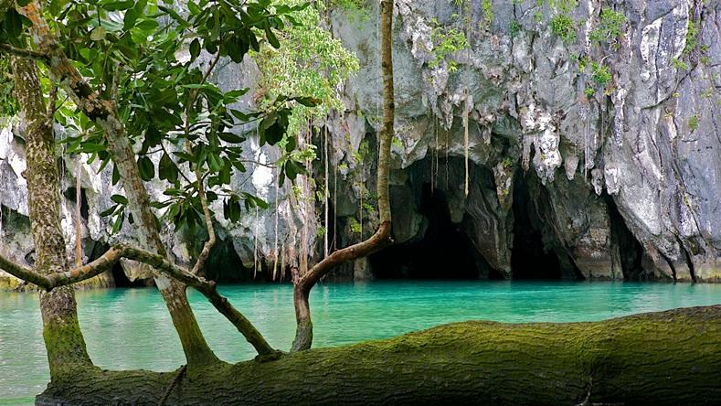 อุทยานแห่งชาติแม่น้ำใต้ดินปูเวร์โตปรินเซซา (Puerto Princesa Subterranean River National Park: Pambansang Liwasang Ilog sa Ilalim ng Lupa ng Puerto Princesa)