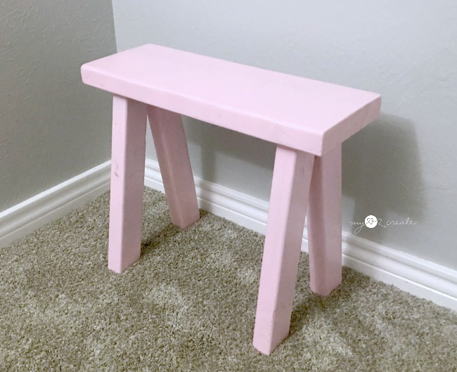 Easy kids DIY Bench
