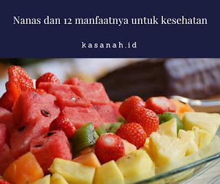salad buah dengan nanas