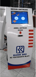 ALAT ANTRIAN BANK MERK TERRAGUNO