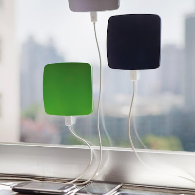 Window Solar Recharger