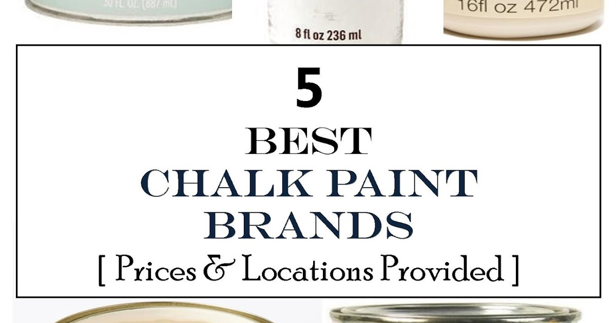 What Brands Of Chalk Paint Are There
