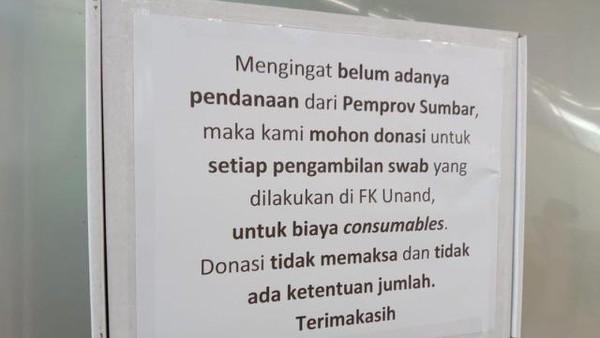 Lab PCR Unand Terpaksa Bergantung Donasi KarnaTak Dibantu Provinsi