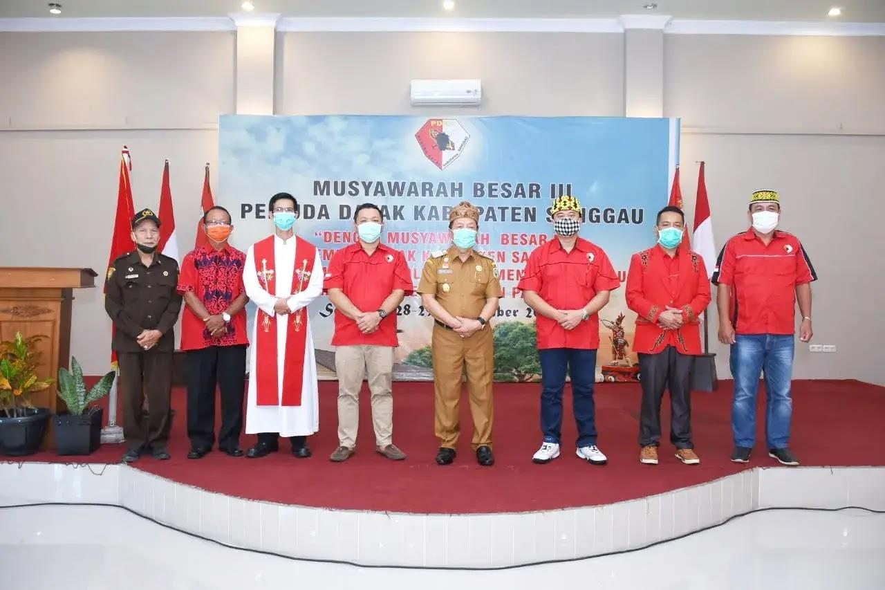 Mubes III PDKS Ditutup, Ini Harapan Wakil Bupati Sanggau