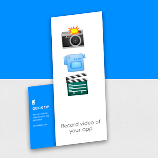 record your app video