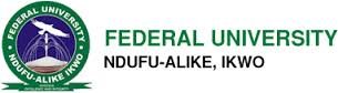 Federal University, Ndufu Alike, Ikwo, FUNAI UTME and Direct Entry second batch admission list for the 2016/2017 academic session is out.