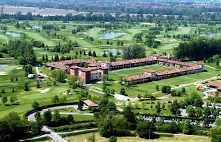 The Castello di Tolcinasco golf complex, near Milan
