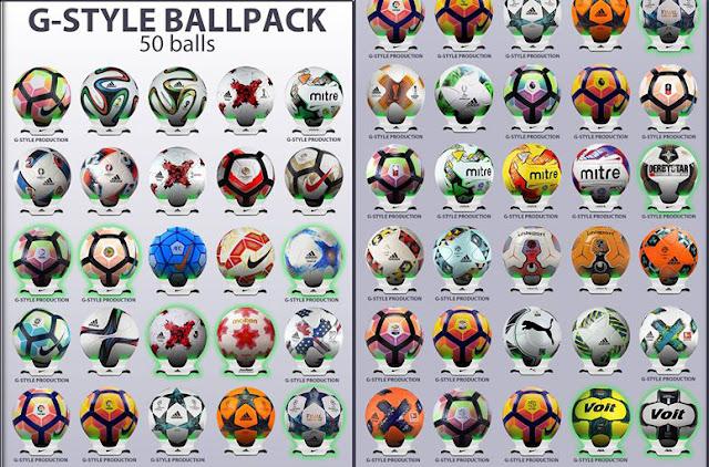 PES 2017 Ball Pack V2.0 dari G-Style