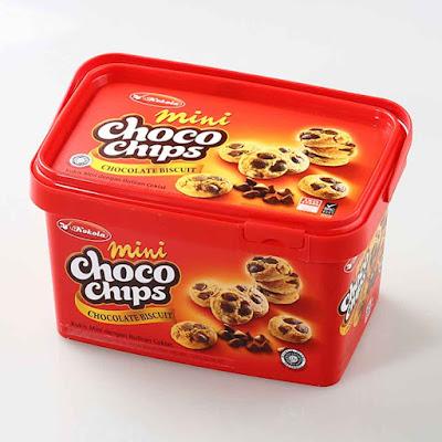 Mini Choco Chips merupakan bentuk varian lainnya dari Kokola biskuit. Umumnya pada biskuit Choco Chips terdapat butiran-butiran cokelat dengan bentuk biskuit lebih tebal dan padat. Mini Chocochips Kokola memiliki cita rasa cokelat di setiap biskuitnya.