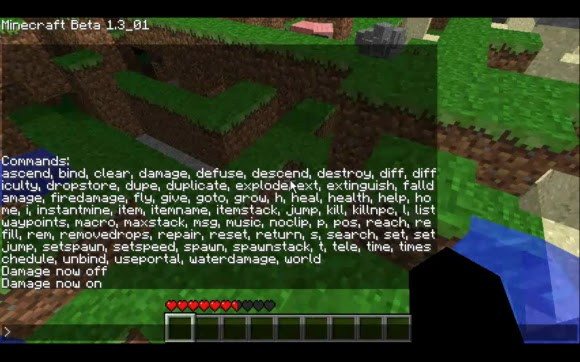 Minecrafted.blog: Single Player Commands