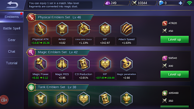 cara mendapatkan fragment emblem mobile legends dengan cepat