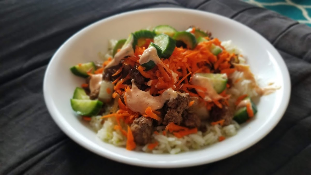 Beef Banh Mi Bowl, from EveryPlate