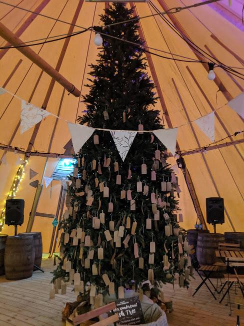 Christmas Wishing Tree at Kielder Winter Wonderland