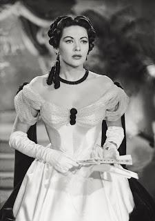 Yvonne De Carlo en La condesa de Castiglione