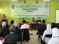 Kasi PD Pontren Kemenag Jawa Barat Buka MQK Ke-VI Kota Bandung