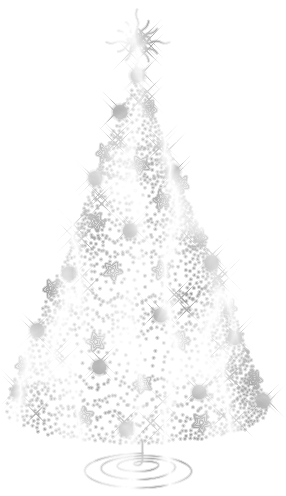 White Christmas Tree Png Christmas Png Image Clipart Png Sector