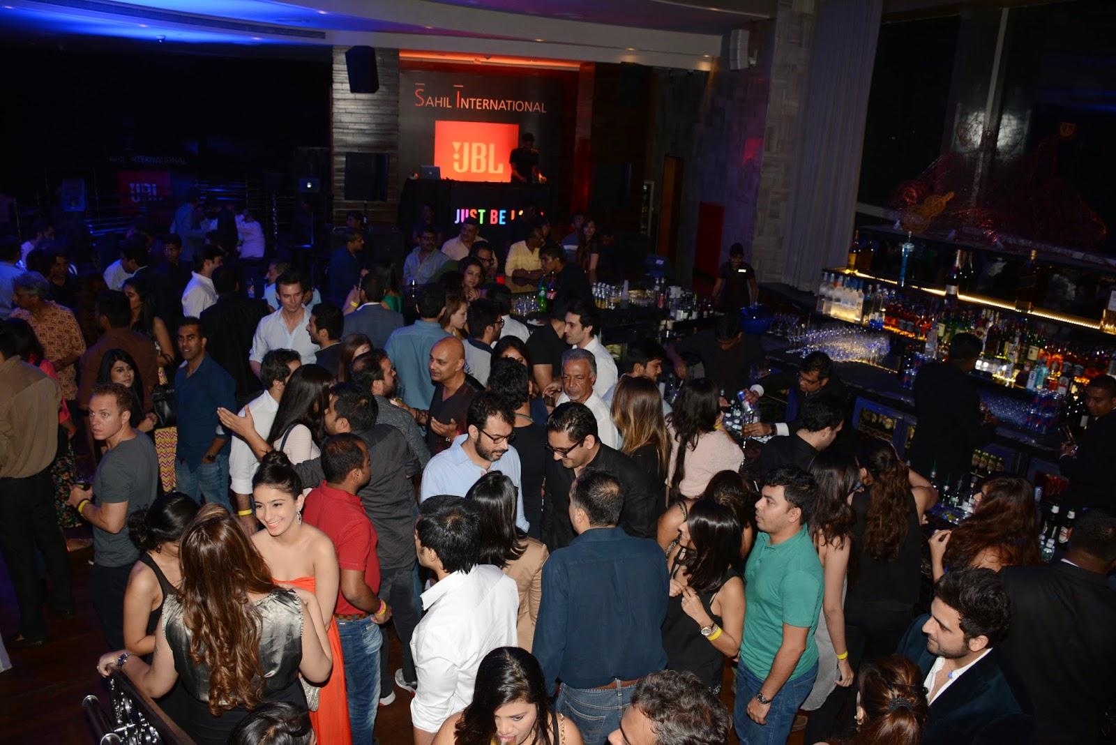 JBL Just Be Loud Party at LiBai, Palladium Hotel