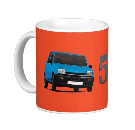 Renault 5 mugs