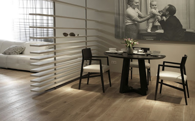 Terrific Naturally Curved Length Flooring from Bolefloor