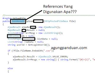 Cara Mengetahui References Berdasarkan Text Pada Script