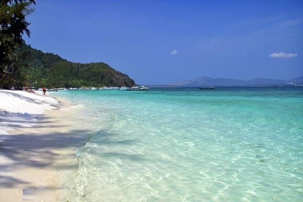 vẻ đẹp của đảo Coral Island