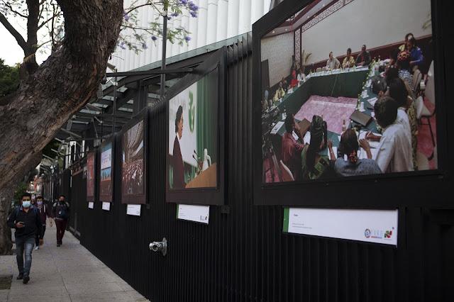 """Rumbo al Foro Generación Igualdad, presentan la exposición fotográfica: """"Mujeres transformando""""Foto. Inmujeres."""