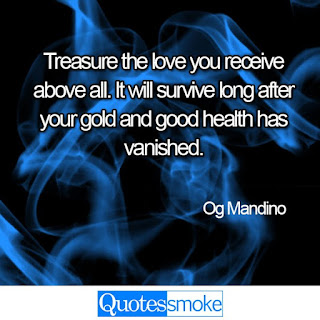 Og Mandino Love quote