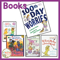 Celebrate the 100th day of school with books, activities, and a project that reaches all the students learning styles.