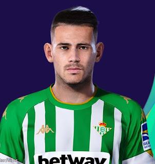 PES 2021 Faces Antonio Sanabria by Lucas