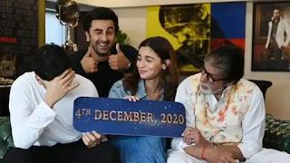 ranbir kapoor, alia bhatt and amitabh bachchan's 'Brahmashtra' will release on christmas-2020
