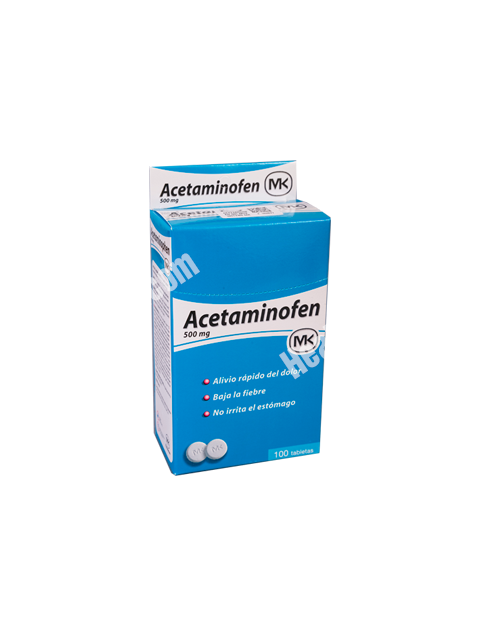 Acetaminofen MK Lot of 2