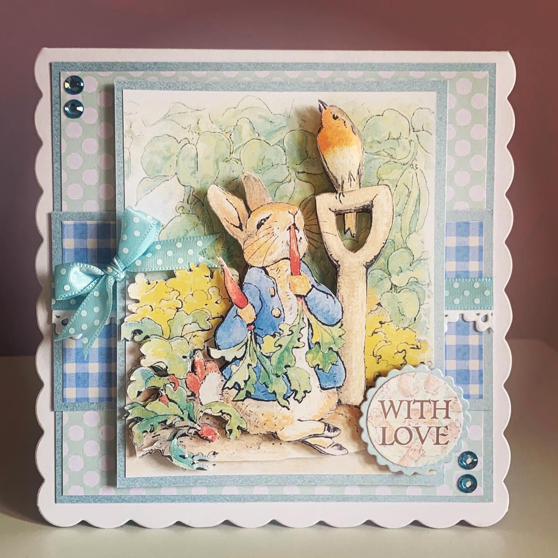 Sweet Caroline Cards Peter Rabbit