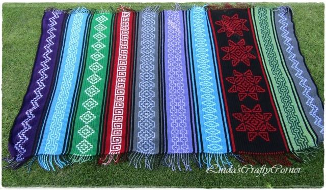 mosaic, crochet, easy,afghan,blanket