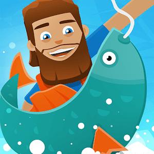 تحميل لعبة المغامرات والصيد Hooked Inc: Fisher Tycoon النسخة المهكرة