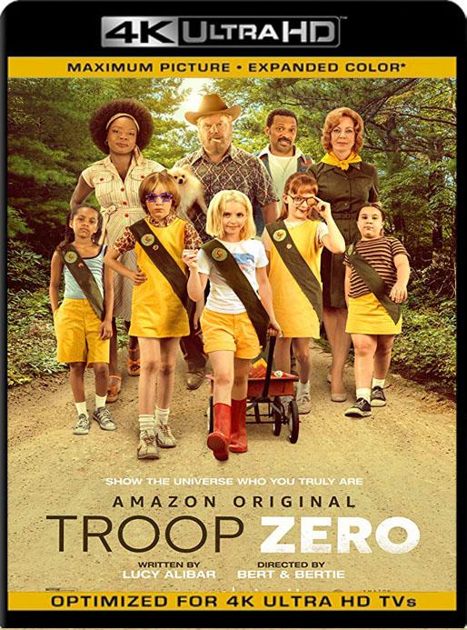 Troop Zero (2019) 4K 2160p UHD [HDR] Latino [GoogleDrive]