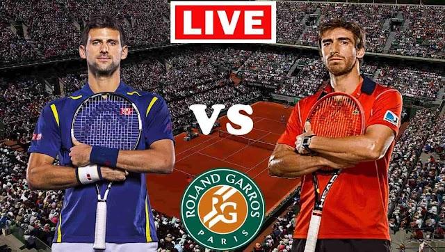 EN VIVO   Novak Djokovic vs. Pablo Cuevas   Roland Garros 2021   Ver gratis online en directo el partido de tenis en Tv