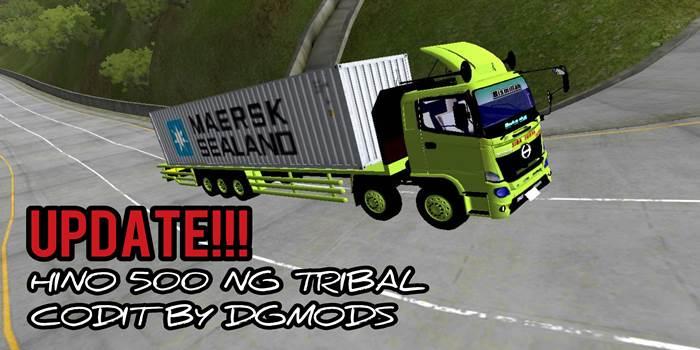 update mod hino 500 tribal dgmods