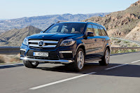2012 all new Mercedes GL350 luxury suv offroad source press image