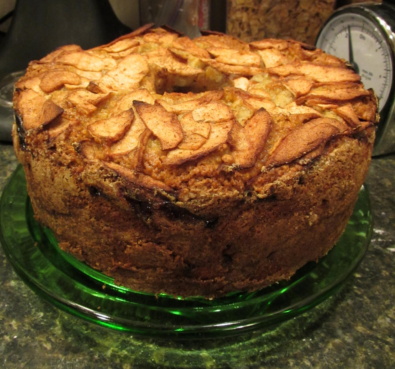Successfully Gluten Free Jewish Apple Cake