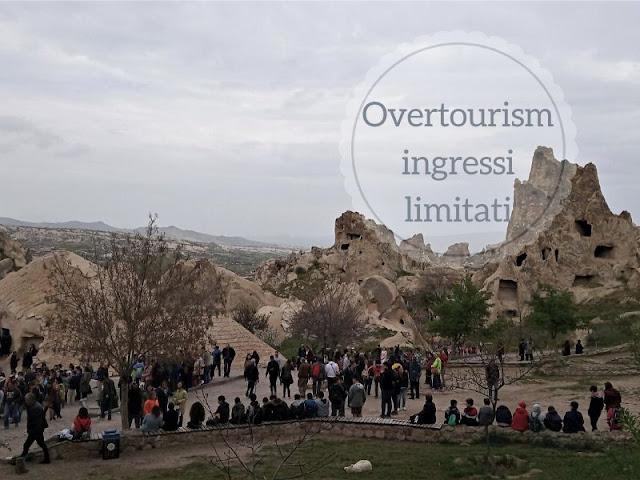 L'overtourism e la limitazione degli ingressi nei siti turistici