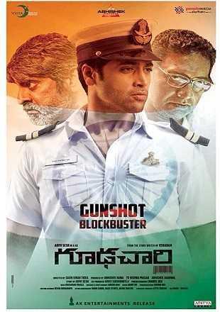 Goodachari 2018 Hindi Dubbed Movie Download HDRip 720p