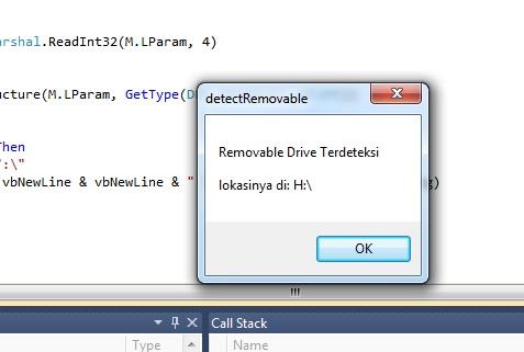 Membuat Aplikasi Sederhana Untuk Deteksi Removable Drive Dengan Vb.Net