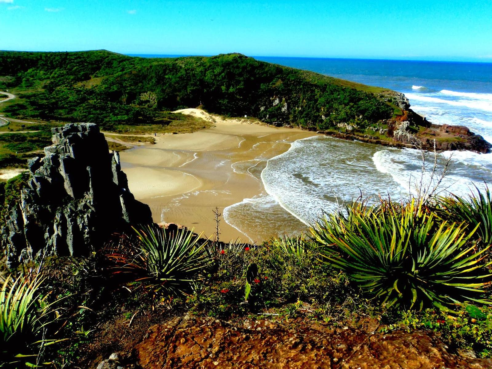 Praia da Guarita, em Torres, A Mais Bela do RS