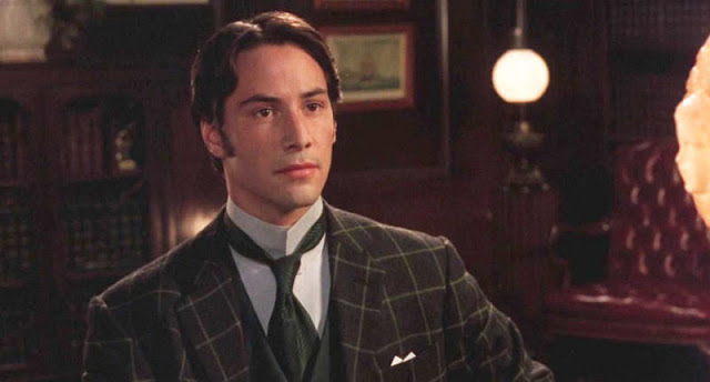 Keanu Reeves as Jonathan Harker in Dracula